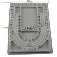 bead making equipment - Infinity Plastic Rectangle Grey x327x150mm Sold By PC DIY Making Tools and Equipment Bead Design Board