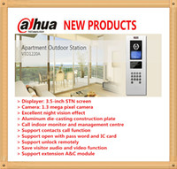 Wholesale DAHUA Apartment Outdoor Station Original English Version without Logo VTO1220A
