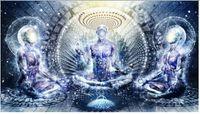 abstract print fabric - New arrived Modern wall art Meditation spiritual Cameron Gray Size Silk Fabric Canvas Poster Print
