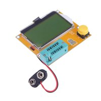 Wholesale 128 yellow green LCD Backlight ESR Meter LCR led Transistor Tester Diode Triode Capacitance MOS PNP NPN