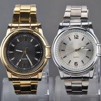 auto wholsale - Wholsale Design Women Quartz Watch fashion mickey Watch Steel Band Business Watch gold Wrist Watches for Men FYMPJ582