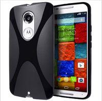 Wholesale New X Line Soft Gel Skin Cover Back Case For Motorola Moto G rd Gen XT1540 G3