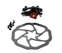 bicycle mechanical disc brake - MTB Mountain Bicycle Bike Mechanical Front Disc Brake Kit Aluminum Alloy