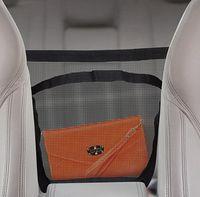 adhesive storage - New Multi function Package Bag Black Car Net Organizer Pockets Car Storage Net Adhesive Visor Car Bag Purse Pouch