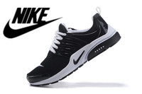 clay - New Arrival NIKE AIR PRESTO BR QS Breathe Black White Duralon Women Men Fashion Sports Athletic Walking Sneakers Free Run Running Shoes