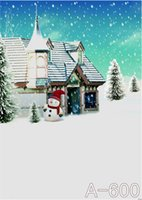 background christmas pictures - 200cmx150cm baby background pictures New snow house christmas backdrops photography WSL A