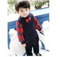 baby sweater crochet pattern - Little Gentleman baby boys long sleeve patchwork cardigan crochet pattern thickening sweater cotton sweater coat fleece lining
