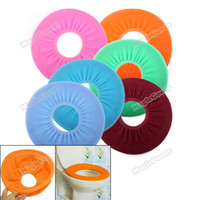 Cheap [High Quality][Brand New] Bathroom Warmer Toilet Washable Cloth Seat Cover Pads [Hot]