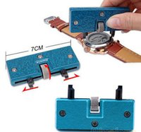 Wholesale Rectangle Adjustable Watch Back Case Cover Opener Remover Wrench Repair Kit Tool