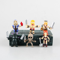 Wholesale New Arrive hot set cm Clash of Clans action figure Witches King Pekka Archer Queen figures Action toys for kids gifts