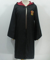 Wholesale harry potter gryffindor cosplay harry potter cape harry potter clothes Robe Cape Magic Robe Gryffindor Slytherin Hufflepuff Ravenclaw