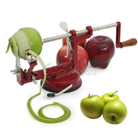 alloy cutters - Hot Zinc Alloy Material Apple Peeler in Machine Corer Fruit Cutter Slicer Kitchen Tool