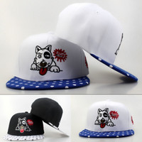 best wow - Newest Caps Snapbacks Bow Wow Caps Hip Pop Sport Caps Cheap Ball Caps Men Women White Black Hat Best Proce Mix Order