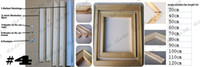 art customer service - Joint Frameless draw Bars Tools for quot x24 quot Stretch Painting By Yourself Frameless draw Service For Customer oLo Art