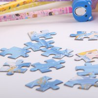 Wholesale 3D Paper jigsaw puzzles toys puzzle kids toys the hit cartoon characters toys for children Baby toys educational A group of four