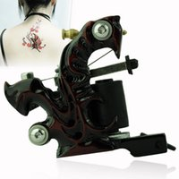 Cheap Rotary Tattoo Machine Tattoo Supplies Professional Handmade Cast Iron Tattoo Machine Liner Shader Equipment EN1606