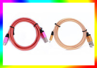 iphone 5 cables - High M ft Micro USB Cord Data Sync Charger Cable For Android Smart Phone note iphone DHL