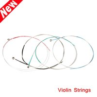 Wholesale Alice A703 Violin Strings Steel Core Super Light Set for Size Violin Parts Accessories