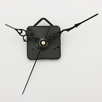 Mechanical   New Black Hands DIY Quartz Wall Clock Spindle Movement Mechanism Repair Parts FREE SHIPPING