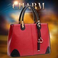 Wholesale Designer Handbags High Quality Women Italian Leather Fashion Tote Sac Femme Shoulder Bolsa Women Handbag Waterproof Famous Brand