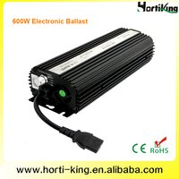 600w hps mh - w lamp electronic ballast high efficiency led light fan cooled dimmable grow light ballast hydroponic hps mh ballasts w