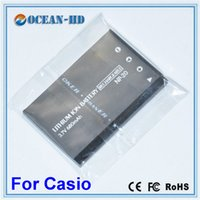 Wholesale 680mah Original Quality Replacement Lipo Digital Camera Battery NP for CASIO Exilim EX M20 S100 S20 S500 S600 S770 S800 Support