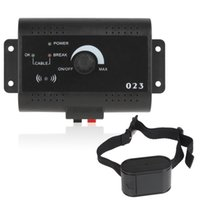 Wholesale Smart Electronic Cat Dog Pet Training Collar Vibra Shock Collar Fencing System with Tone Shock Pulse Stimulus M Wire