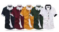 Cheap Brand Design Masculina Shirt 2015 Men short Sleeve Slim Fit Dudalina Male Casual Shirts New Luxury Stylish vestido Camisas