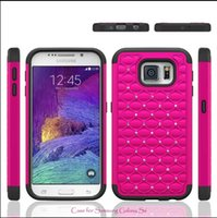 bling iphone case - Hybrid in silicone PC hard Plastic Bling Diamond Crystal Rhinestone Case Cover For iphone plus samsung galaxy S6 Case mix color
