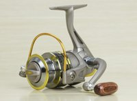 Wholesale Spinning Fishing Reels GS1000 left right hand Aluminum Plastics SG Fishing reels Coil Carp Reel Fly Fishing