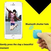 Wholesale amera Photo Shutter Release Bluetooth Remote Shutter slfie stick bluetooth Wireless Camera Control Self timer Shutter For Android For IOS