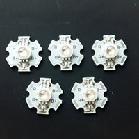 beads units - 1pcs W PIN RGB Color RED GREEN BLUE LED chips Star pcb Bead Unit Cooling Board Modular