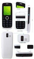 Wholesale 1pcs black white red Original phone Dual SIM Dual Standby phone Mp3 Playback Bluetooth GPRS Refurbished Cell Phones