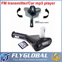Multi-couleur avec LCD voiture mp3 Display Télécommande Smart Kit Voiture MP3 WMA Wireless Player FM Carte SD USB Port Câble audio le moins cher