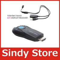 Wholesale Electronic New P v5ii Vsmart EZcast Smart TV Stick Miracast DLNA Airplay WiFi Display Receiver Dongle for iOS Android