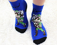 Wholesale 2015 Hot Sell Childrens socks cartoon socks League of Legends ruffle socks LOL socks TW6