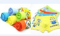 Wholesale Hot sale Despicable Me Minions Cartoon Lovely kids underwear High quality boys underwear L XL XXL fit yrs children