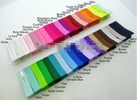 Wholesale 30 off Grossgrain Ribbon Alligator Clip Lined Clips Single Pronged Alligator Clips Hair Accessories