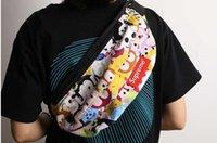 Wholesale Tsum Tsum Printing Backpack Cartoon Bag Double Zipper Bag Tsum Fashion Bag Single Shoulder Bag
