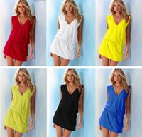 beachwear jewelry - New Hot Sexy Women Cover Ups brand Beachwear Bathingsuit SwimWear Jewelry Bikini Cover Up Shirt Dress Colors