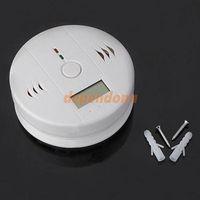 Cheap Security CO Carbon Monoxide Monitor Fire Smoke Alarm Detector System