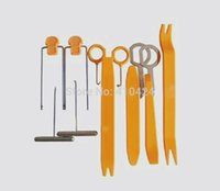 auto audio installations - Car Door Clip Panel Trim Dash Audio Radio Removal Pry Tool auto repair Installation Set Kit order lt no track
