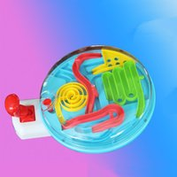 ball control games - Hand Control Plastic Maze Steel Ball Handle Novelty Game Gift For Children Early Educational Adult Kids Intellect Toy