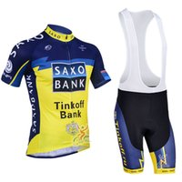Wholesale 2013 Tinkoff saxo bank cycling jersey Bike Suit pro cycling jersey cycling jersey short Bib Pants cycling jersey sports apparel