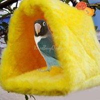Wholesale Parrot Bird Budgie Fluffy Warm Nest Shed Bedroom Suspended Hut Small Size K5BO