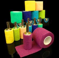 bandage machine - New Medical gauze tattoo grip Handle the bandage and supply for tatoo machine Retail Sale amp