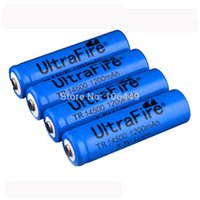 Wholesale 15 OFF Ultrafire ICR MAH V Li ion battery cell AA rechargeable Lithium ion batteries for flashlight torch