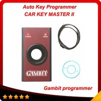 Cheap High quaity Gambit programmer CAR KEY MASTER II RFID transponders Programming and Generating Scanner Professional key programmer