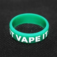 apply ring - Cool Silicon rubber band vape rings for electronic cigarette rod atomizer mechanical anti skid apply to mechanical and atomizer