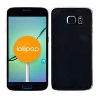 Wholesale Android Lollipop HDC S6 SM G920F MKT6582 Quad Core Real Smart Remote GB ROM G LTE quot G WCDMA Smart Cell Phone